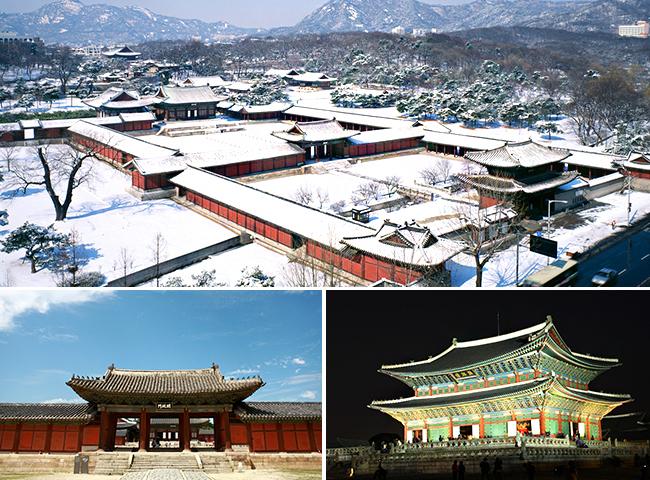 Kết quả hình ảnh cho Cung điện Gyeong-bok