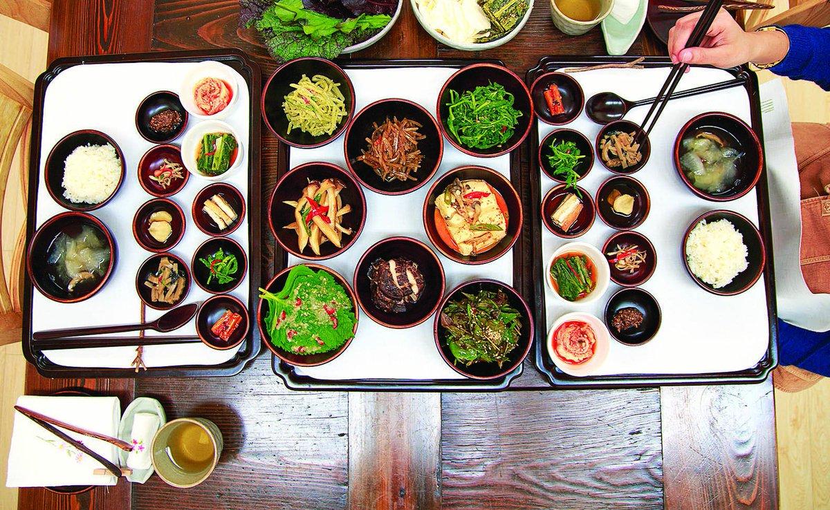 Ẩm thực chay Hàn Quốc luôn đảm bảo tính an toàn, tự nhiên và đẹp mắt
