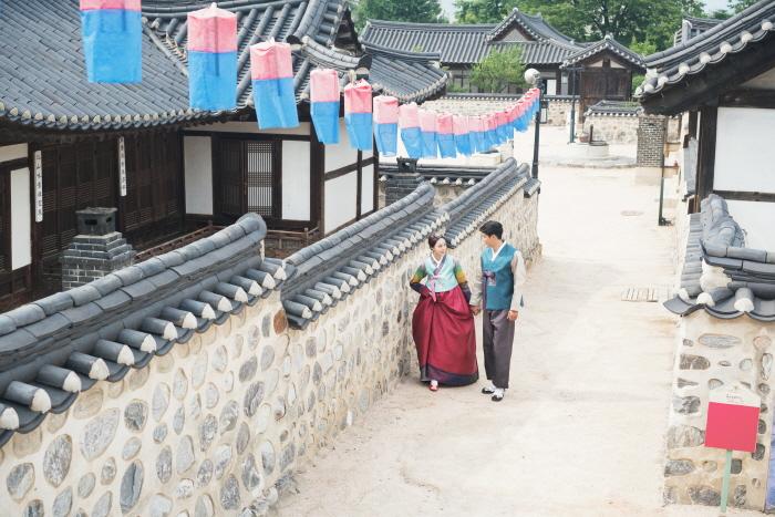 Kết quả hình ảnh cho khu làng cổ Hanok Namsangol