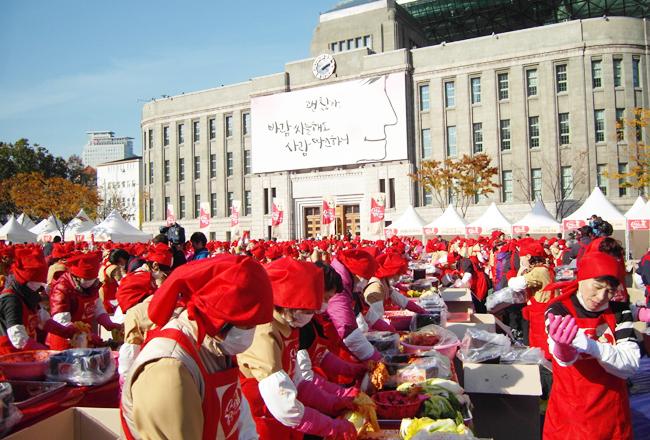 Sự kiện làm Gimjang